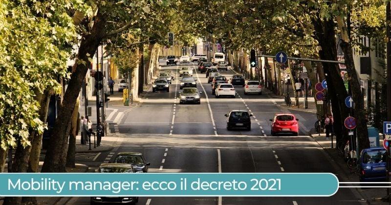 Mobility manager 2021 decreto